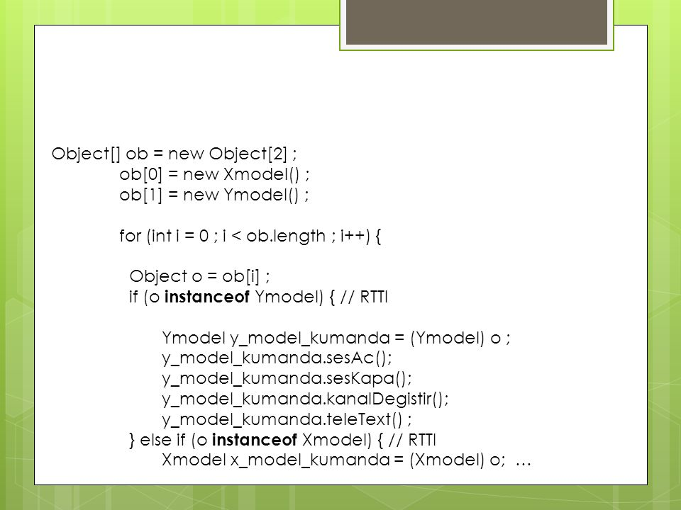 Object[] ob = new Object[2] ;